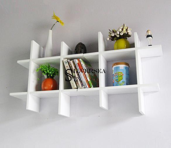 Floating shelves around