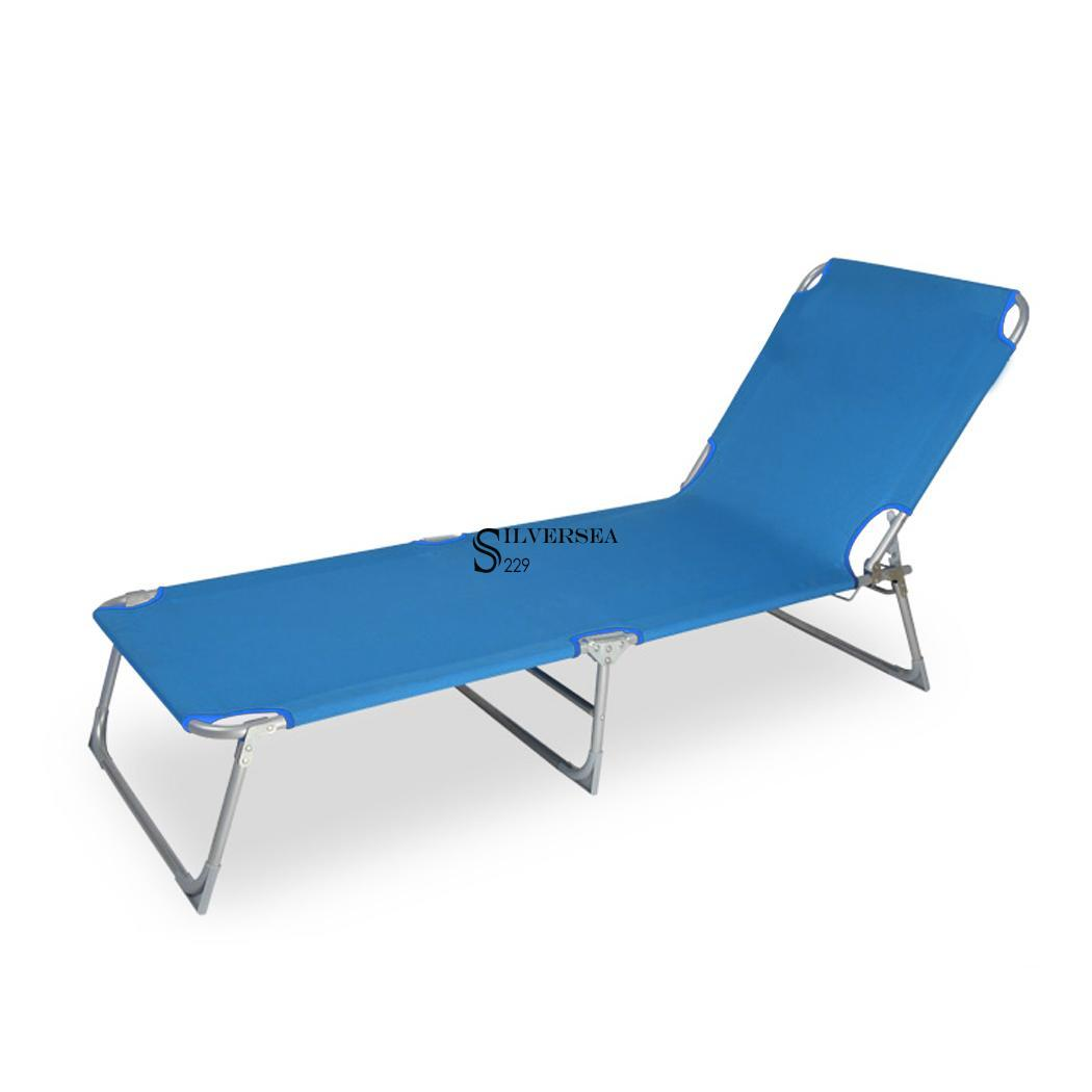 Folding chaise lounge chair patio outdoor pool beach lawn for Beach chaise lounge